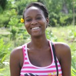 Global Dialogues youth writing contest winner Stephanie Balmir of Haiti